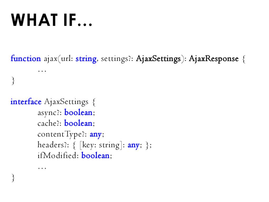 function ajax(url: string, settings?: AjaxSetti...