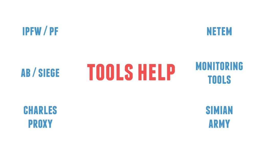 tools help charles proxy ipfw / pf netem monito...