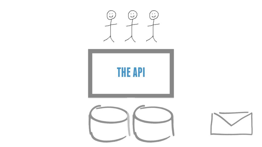 THE API