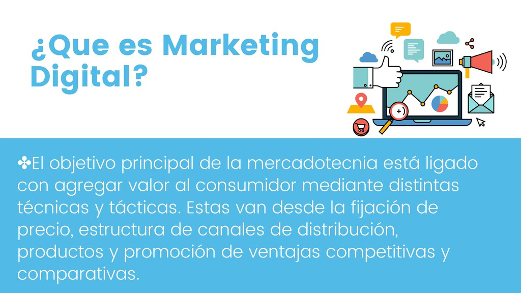 ¿Que es Marketing Digital? ✤El objetivo princip...