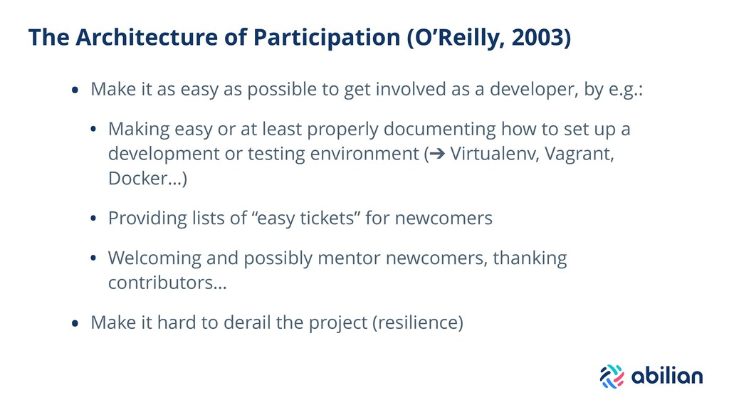 The Architecture of Participation (O'Reilly, 20...