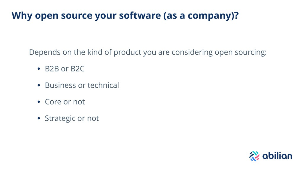 Why open source your software (as a company)? D...
