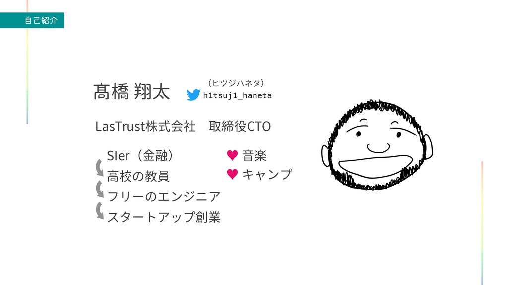 ࣗݾհ h1tsuj1_haneta (ヒツジハネタ) LasTrust株式会社 取締役CT...