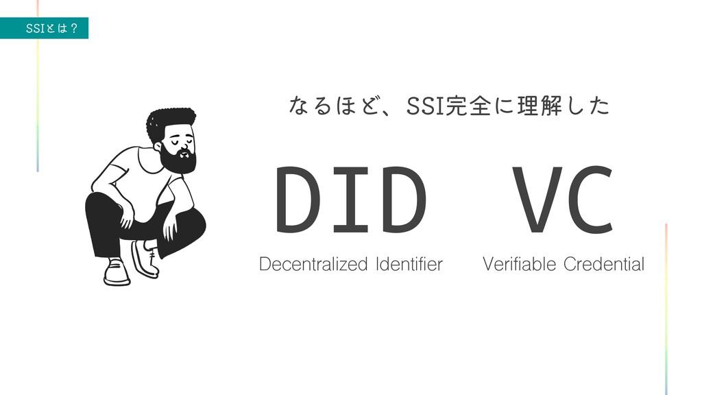 44*ͱʁ ͳΔ΄Ͳɺ44*શʹཧղͨ͠ Decentralized Identifier...