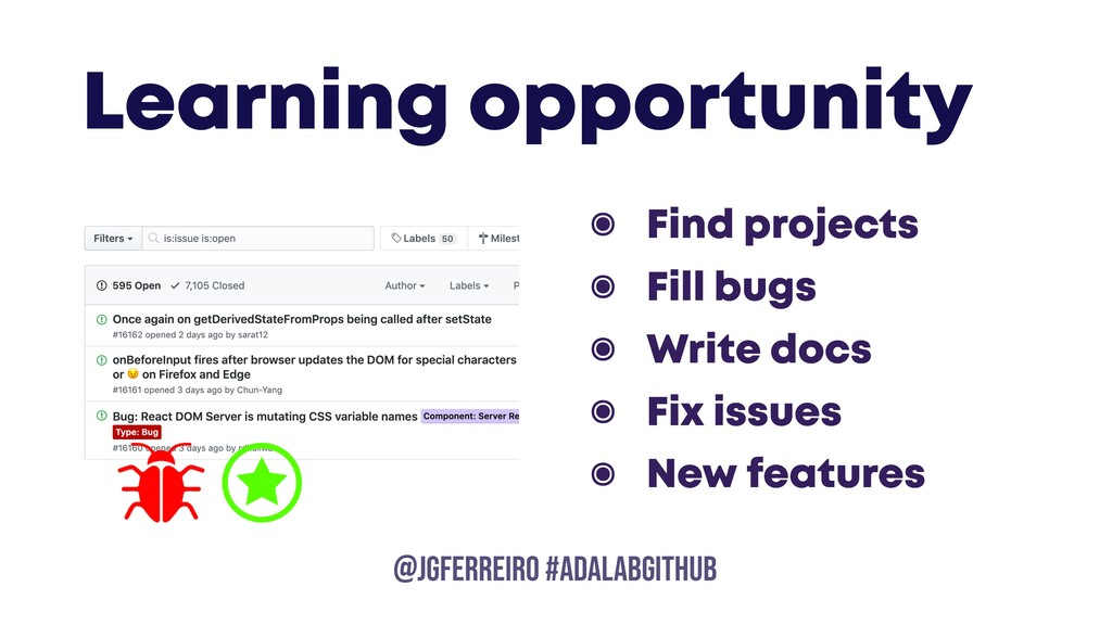 @JGFERREIRO @JGFERREIRO #ADALABGITHUB Learning ...