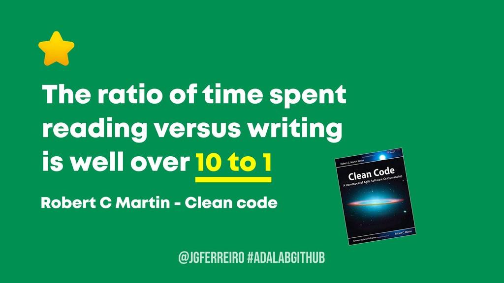 @JGFERREIRO The ratio of time spent reading ver...