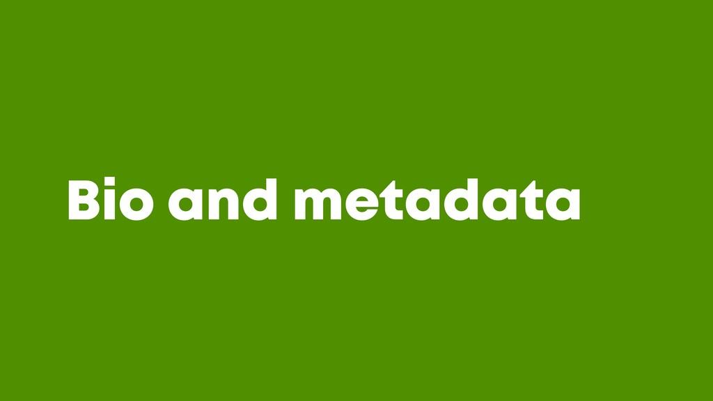 @JGFERREIRO @JGFERREIRO Bio and metadata