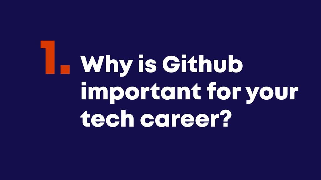 @JGFERREIRO @JGFERREIRO Why is Github important...