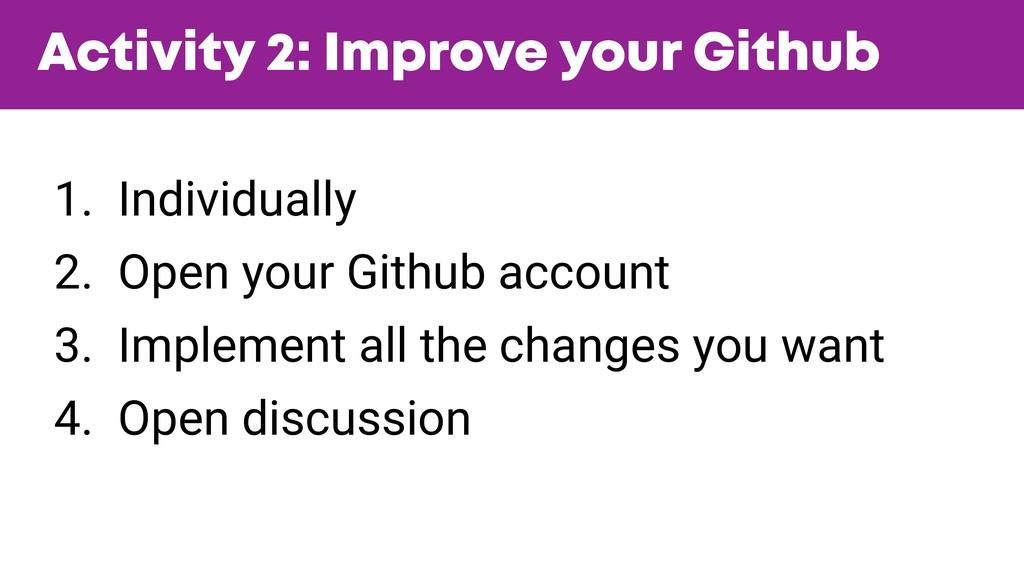 @JGFERREIRO @JGFERREIRO Activity 2: Improve you...