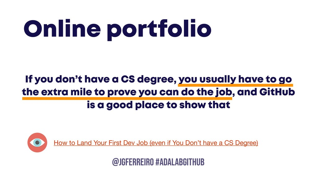 @JGFERREIRO @JGFERREIRO #ADALABGITHUB If you do...