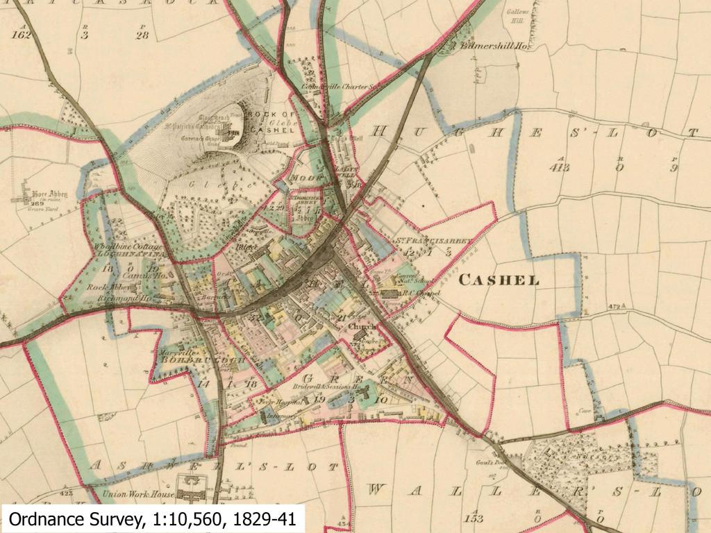 Ordnance Survey, 1:10,560, 1829-41