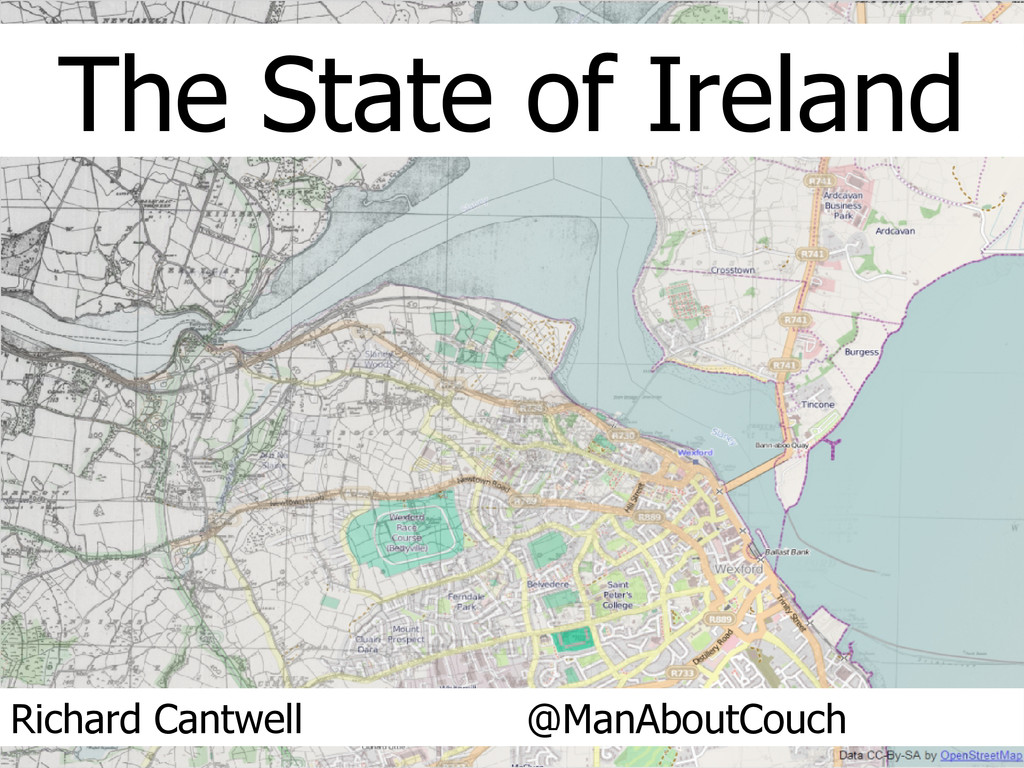 The State of Ireland Richard Cantwell @ManAbout...