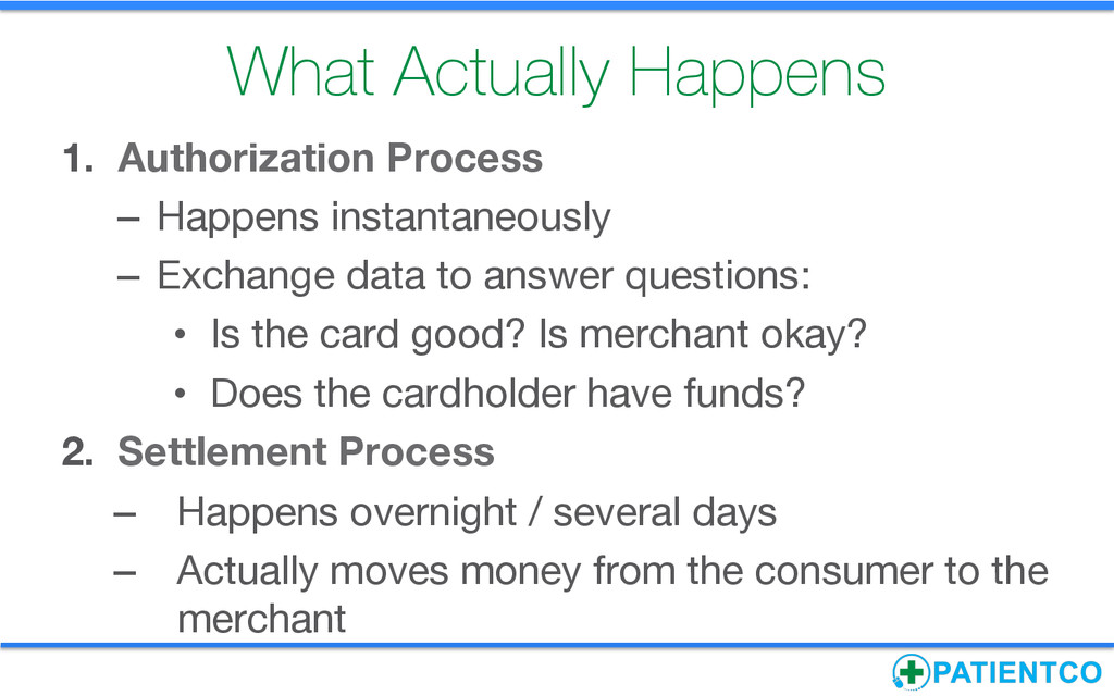 What Actually Happens 1. Authorization Proces...
