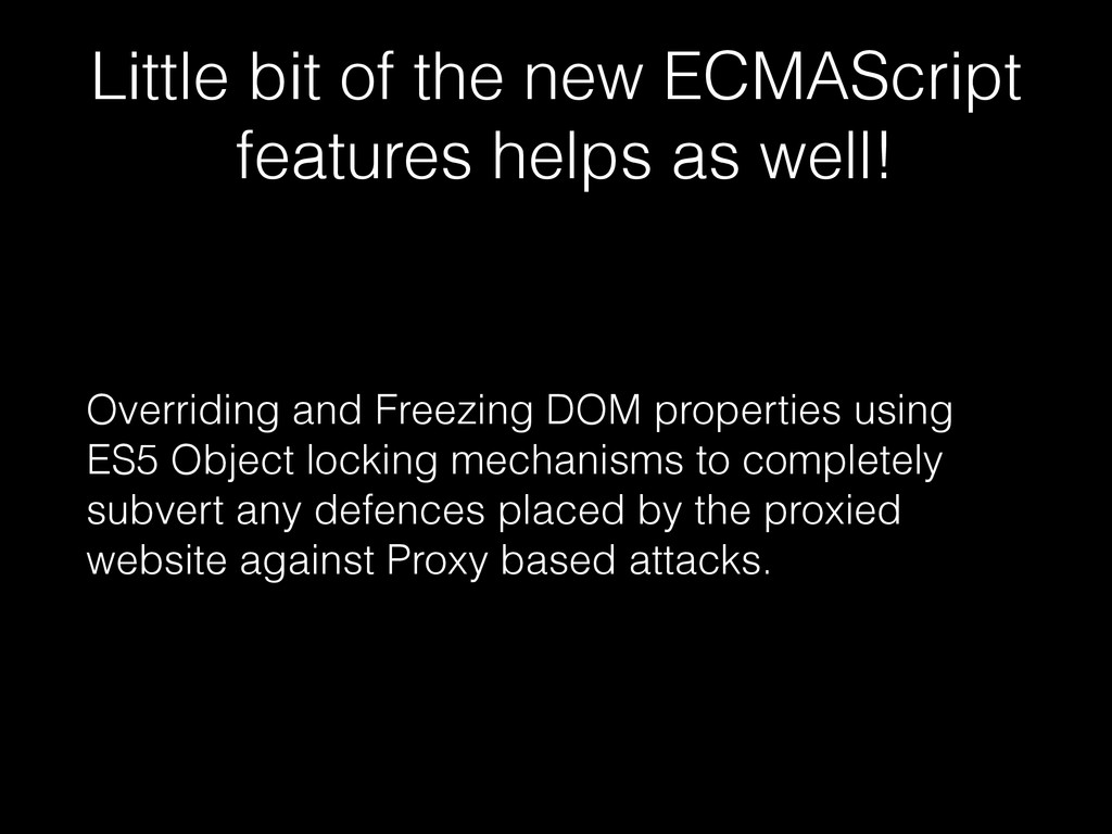 Little bit of the new ECMAScript features helps...