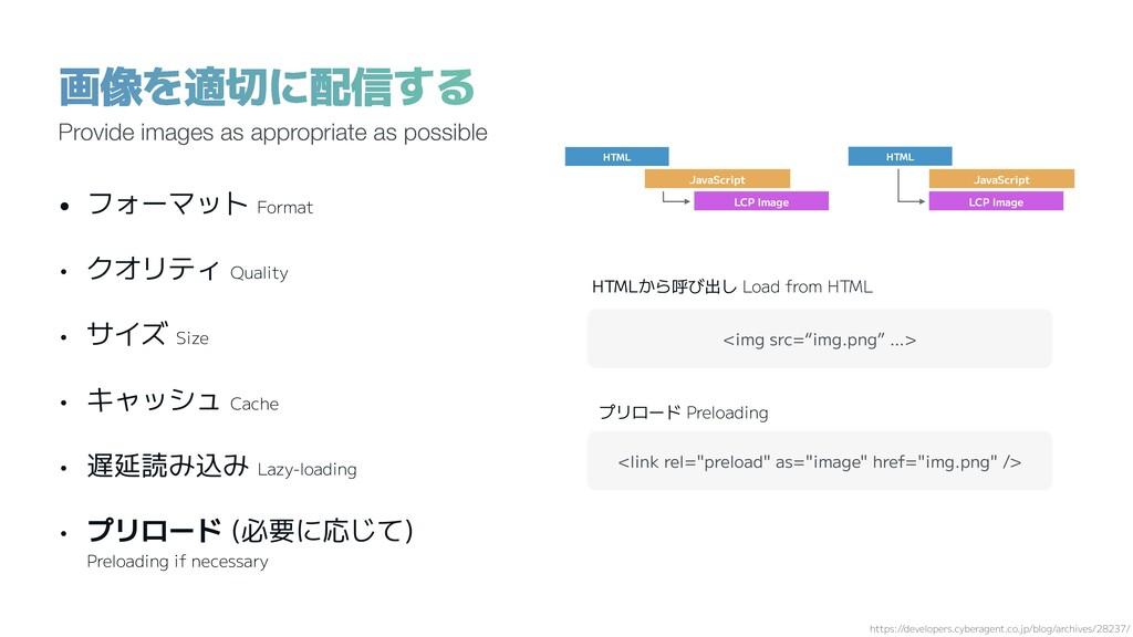 画像を適切に配信する https://developers.cyberagent.co.jp/...