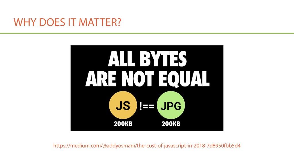 WHY DOES IT MATTER? https://medium.com/@addyosm...