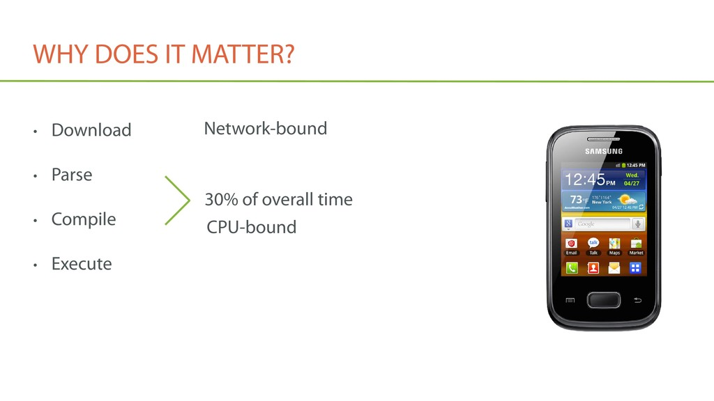 WHY DOES IT MATTER? • Download • Parse • Compil...