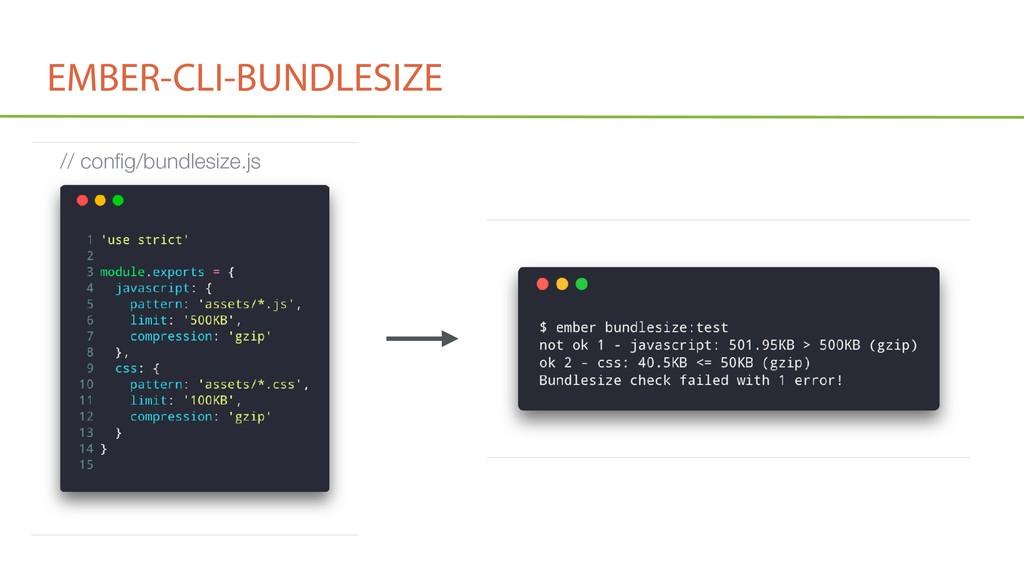 EMBER-CLI-BUNDLESIZE // config/bundlesize.js