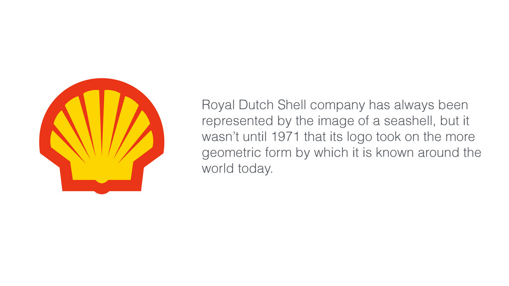 Royal Dutch Shell company has always been repre...