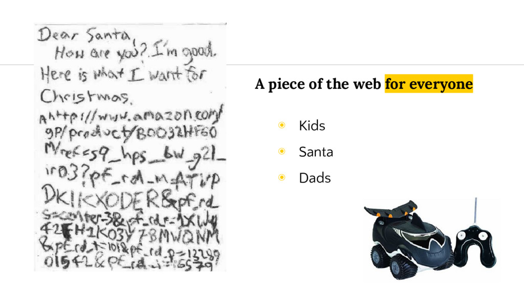 A piece of the web for everyone ◉ Kids ◉ Santa ...