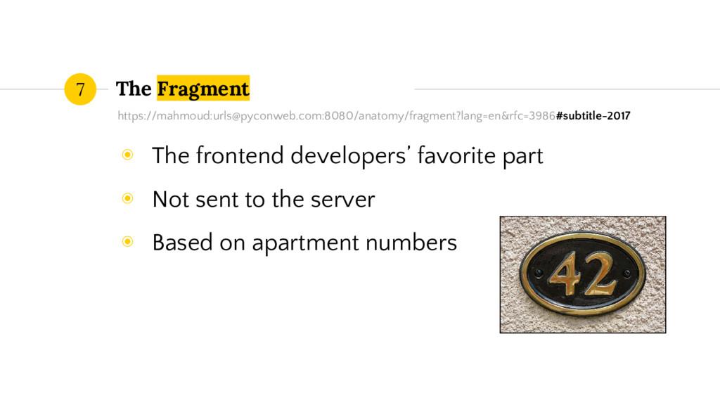 The Fragment 7 https://mahmoud:urls@pyconweb.co...