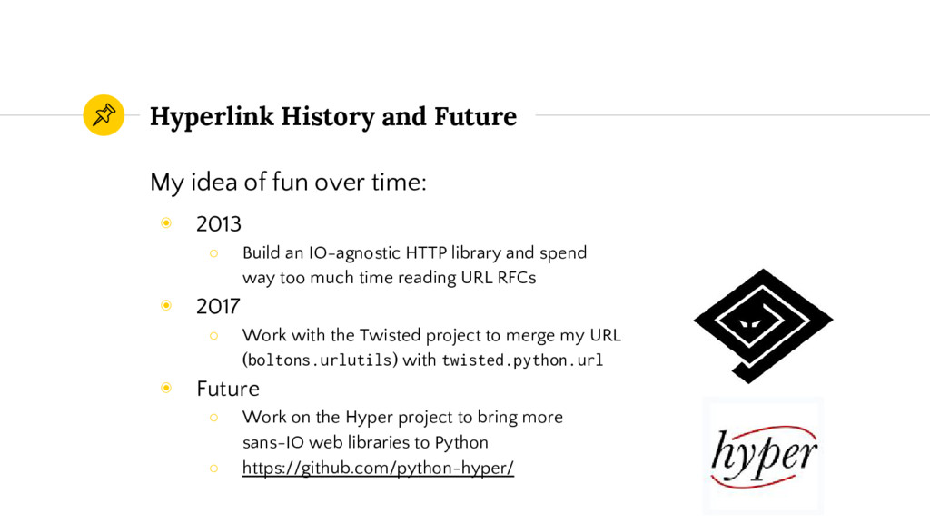 Hyperlink History and Future My idea of fun ove...