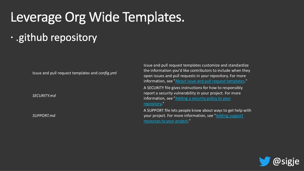 Issue and pull request templates and config.yml...