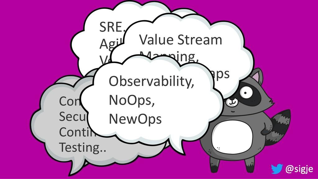 SRE… DevOps… Agile... Lean… Velocity… Serverles...