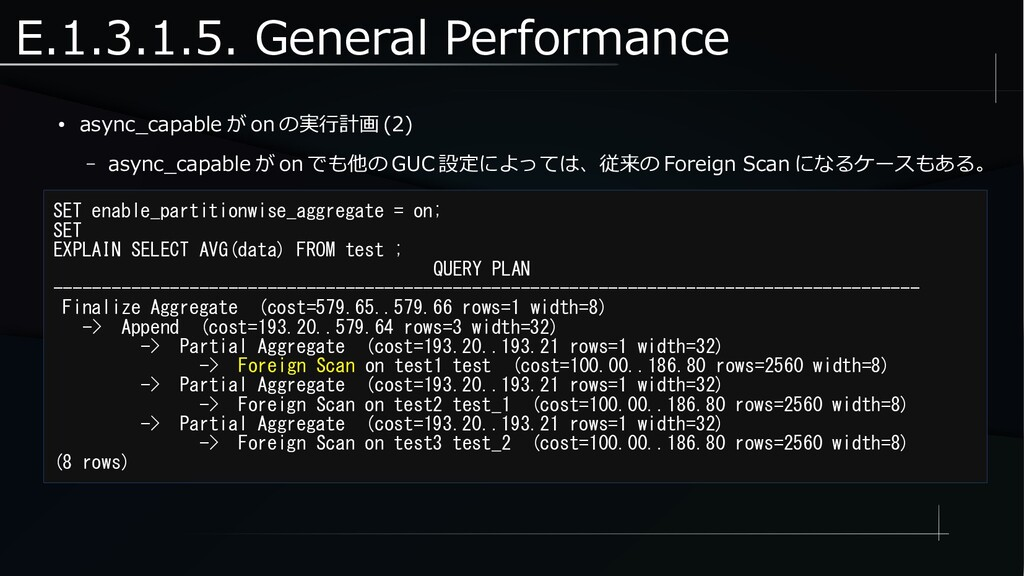E.1.3.1.5. General Performance ● async_capable ...