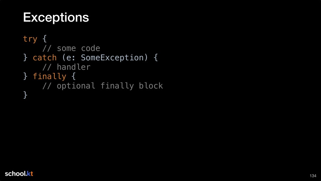 !134 try { // some code } catch (e: SomeExcepti...