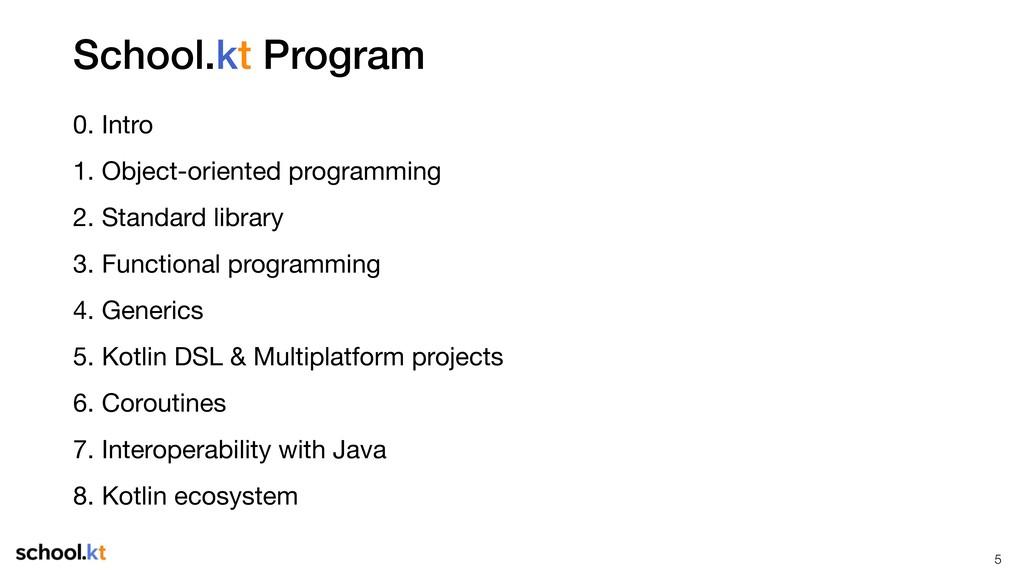School.kt Program 0. Intro  1. Object-oriented ...