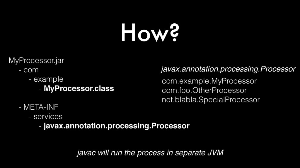 How? MyProcessor.jar - com - example - MyProces...