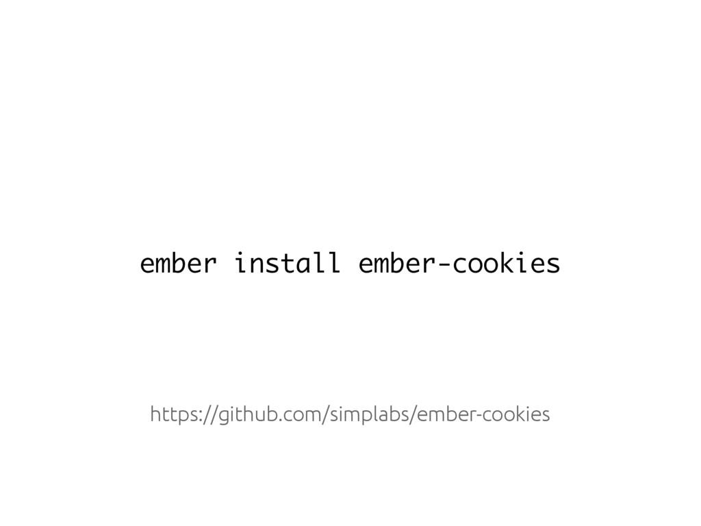 ember install ember-cookies https://github.com/...