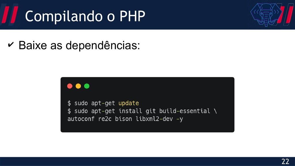 Globalcode – Open4education 22 Compilando o PHP...