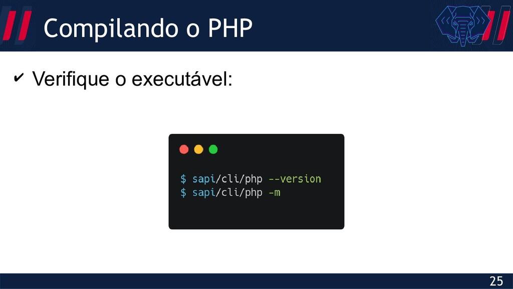 Globalcode – Open4education 25 Compilando o PHP...
