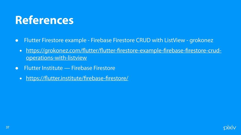• Flutter Firestore example - Firebase Firestor...