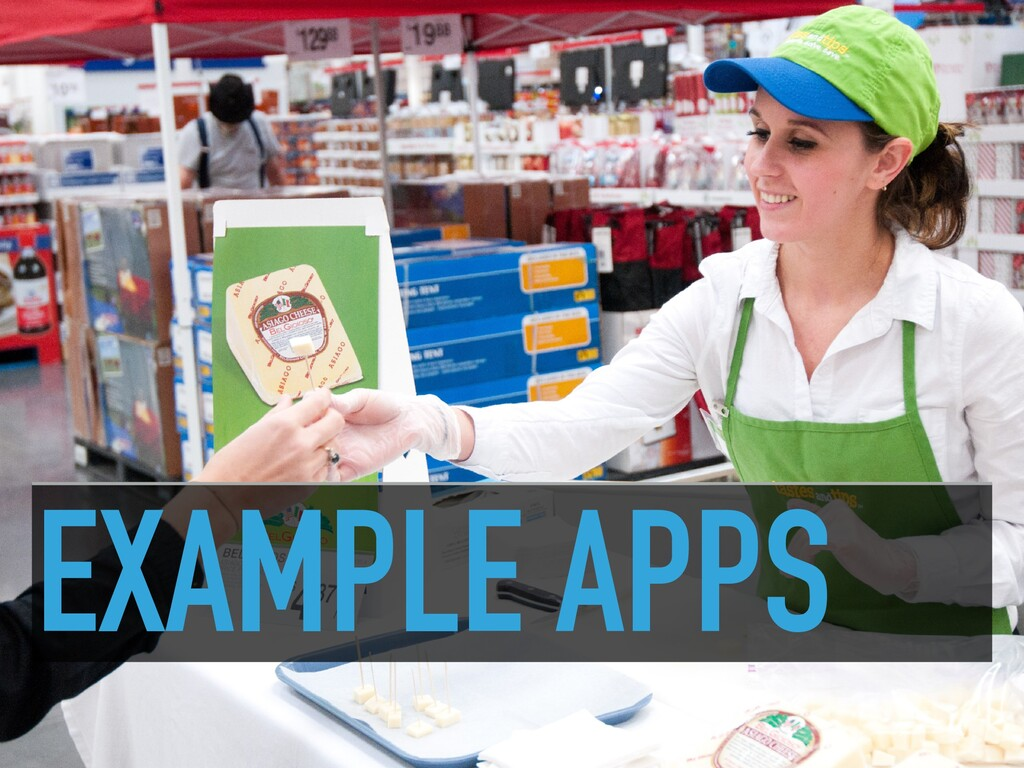 EXAMPLE APPS