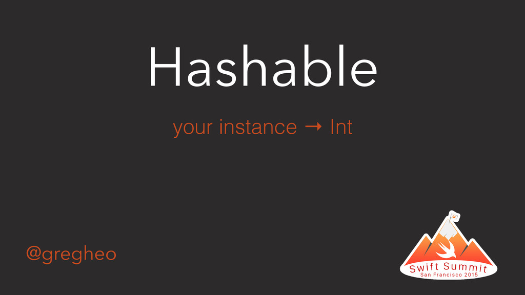 @gregheo Hashable your instance → Int