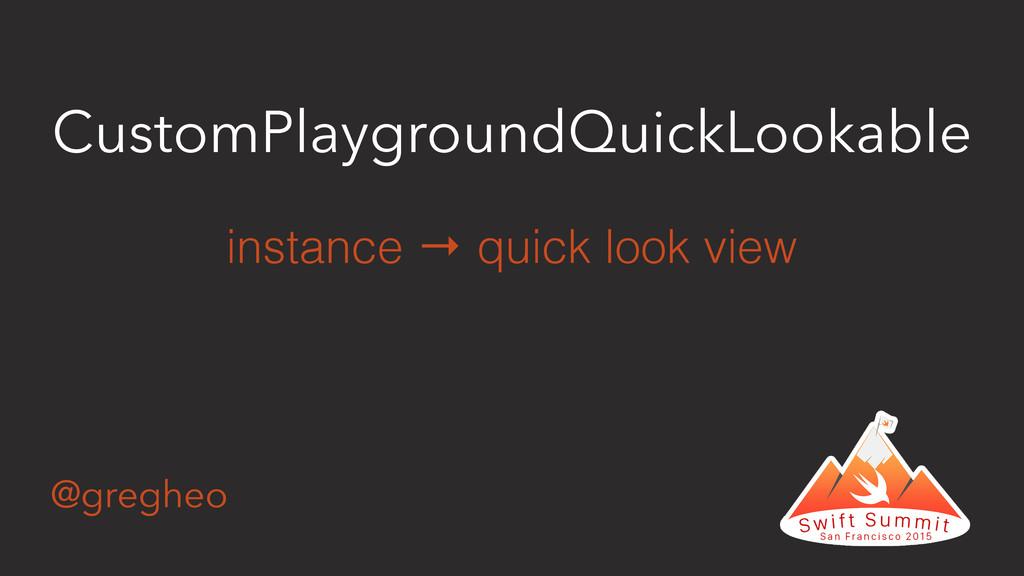 @gregheo CustomPlaygroundQuickLookable instance...