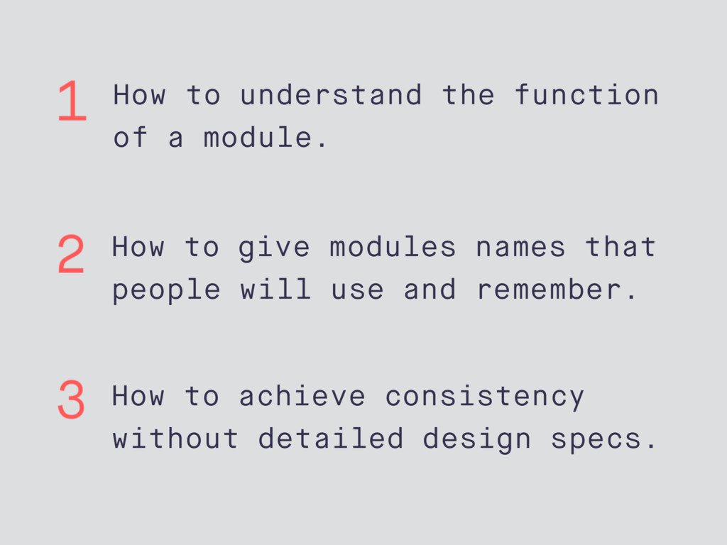 How to understand the function of a module. How...