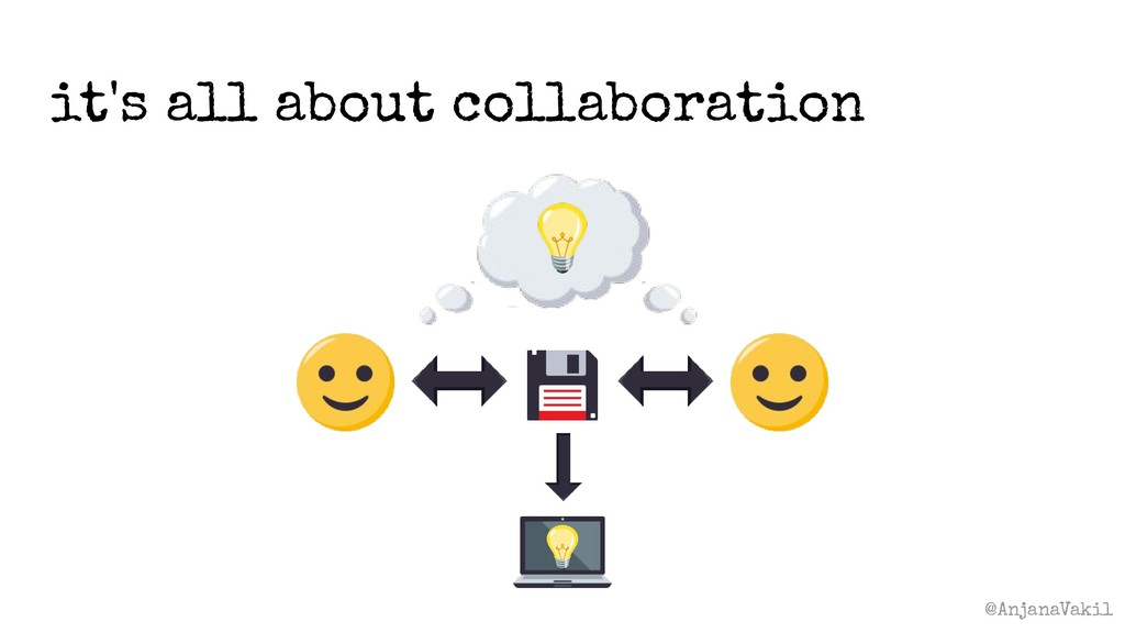 @AnjanaVakil it's all about collaboration