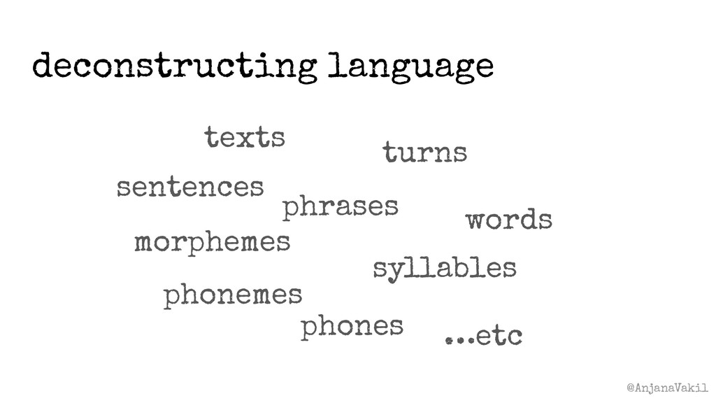 @AnjanaVakil deconstructing language texts word...