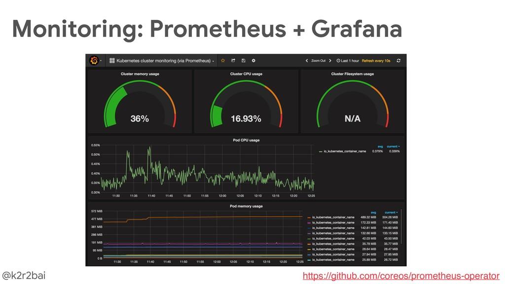 @k2r2bai Monitoring: Prometheus + Grafana https...