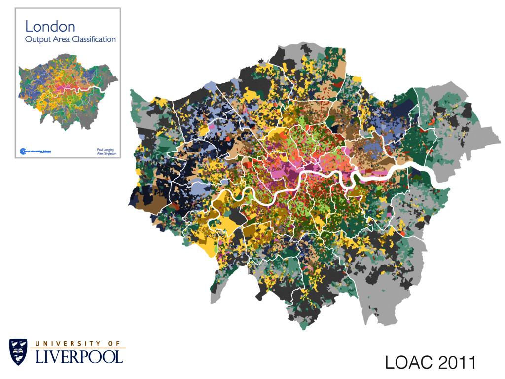 A1: Struggling suburbs A2: Suburban localities ...