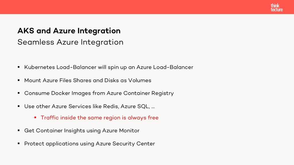 Seamless Azure Integration § Kubernetes Load-Ba...