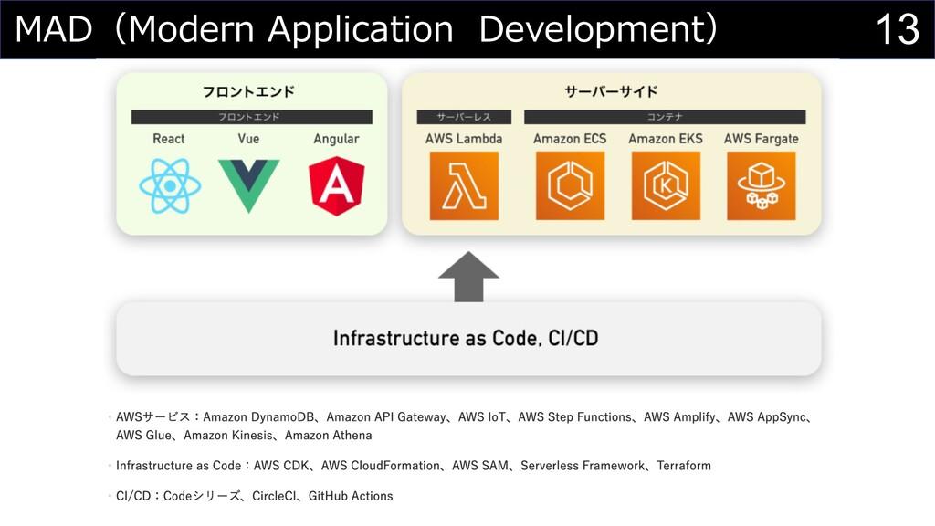 13 MAD(Modern Application Development)