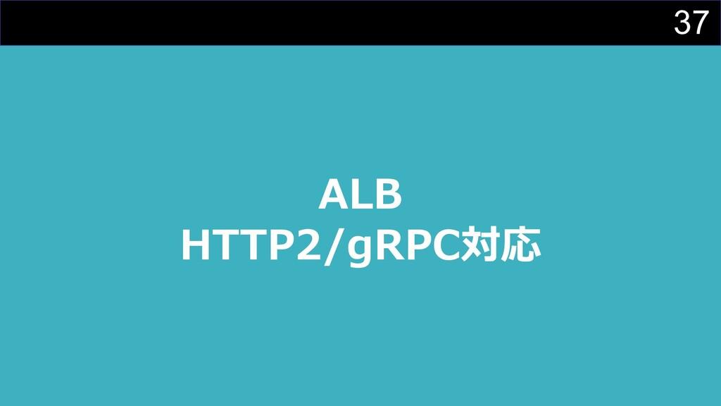 37 ALB HTTP2/gRPC対応