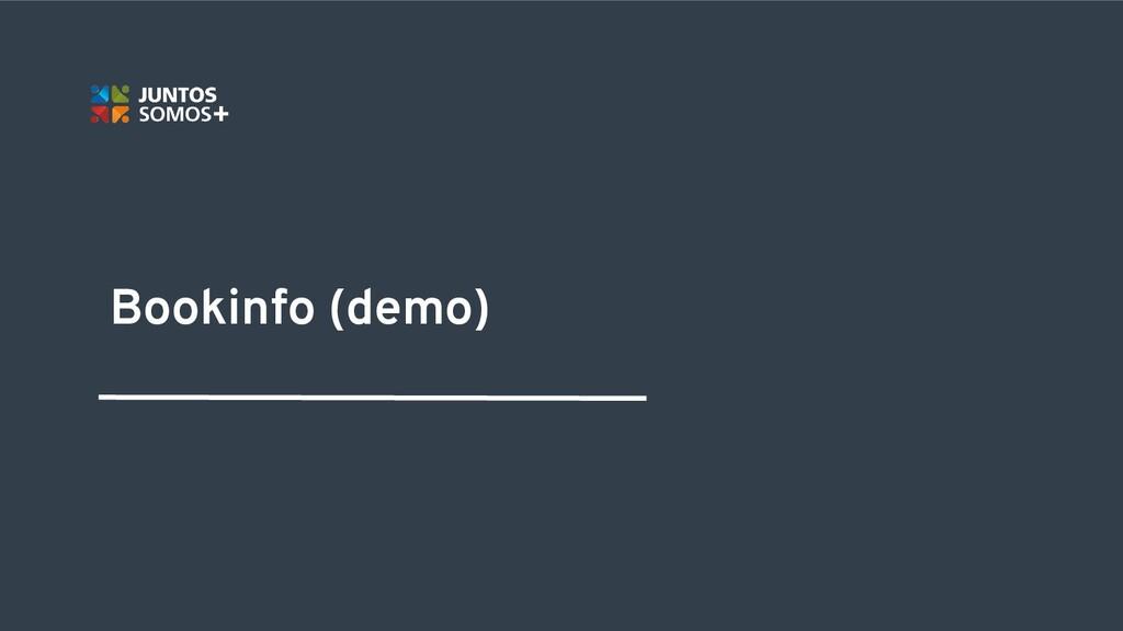 Bookinfo (demo)