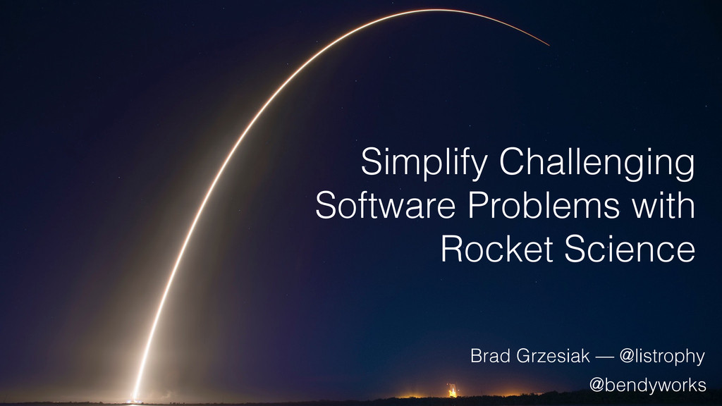 Simplify Challenging Software Problems with Roc...