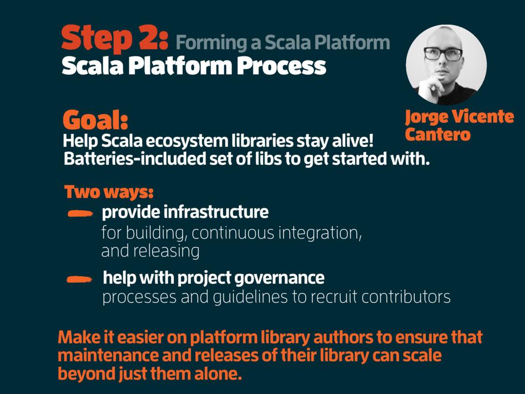 Scala Platform Process Step 2: Forming a Scala ...